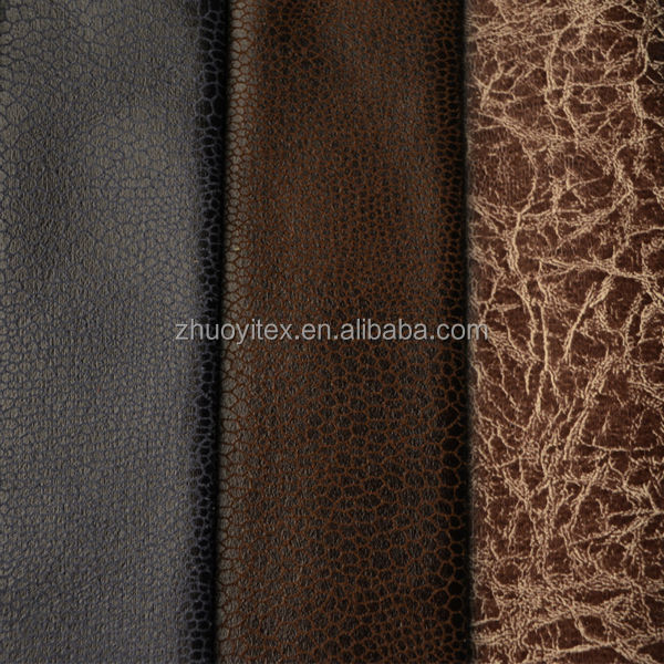 fashion faux suede fabric / bronzing suede for sofa