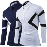 dri fit long sleeve polo shirt