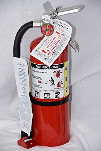 B-500 Amerex ABC Fire Extinguisher /With Certification Tag. Fire Inspection Ready