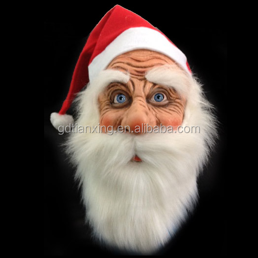 Santa Mask/Christmas Party Mask/Xmas Costume