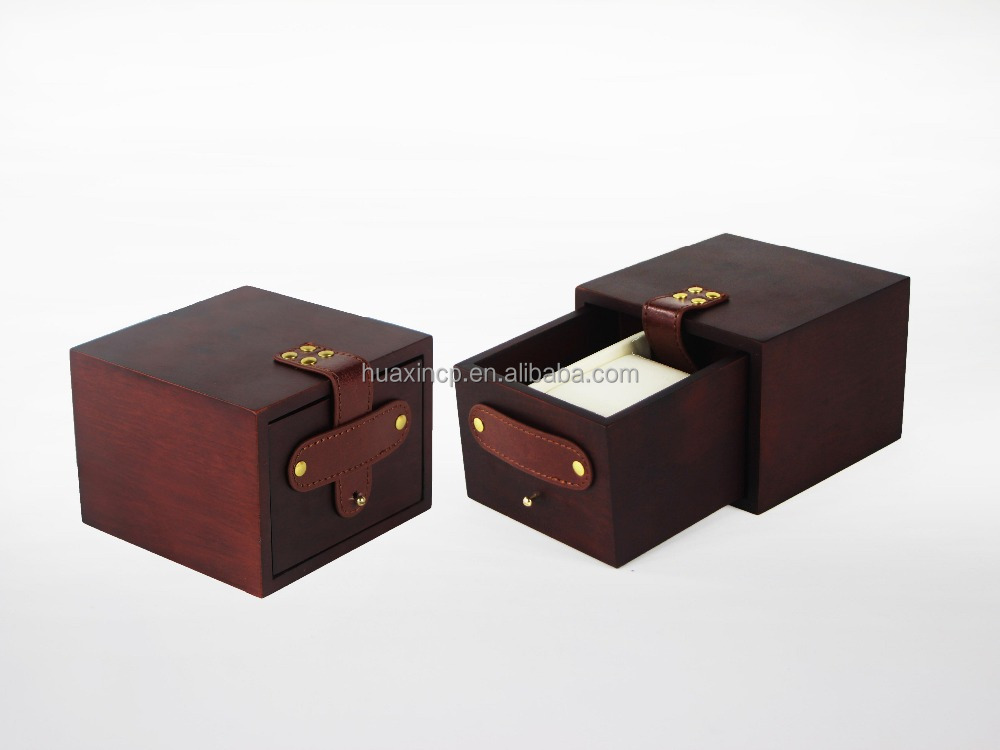 Solid Wood Wrist Watch Box