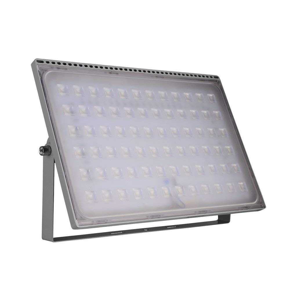 Coolkun 10/20/30/50/100/150/200/300/500W LED Flood Lights,Super Bright Work Lights, Outdoor and Indoor IP65 Waterproof Security Light for Garage, Garden, Lawn and Yard (500W Ultra-thin)
