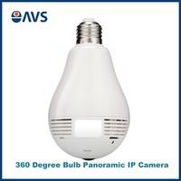 Hidden Camera Security Bulb Light IP Wireless Webcam Wifi HD 960P Spy Camera