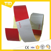 dot c2 white 6'' and red 6'' Reflective Tape, high intensity grade