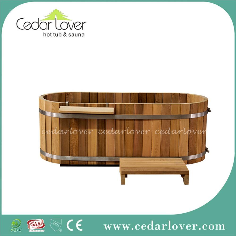 style japonais en bois baignoire ovale spa baignoire bains th rapeutiques id de produit. Black Bedroom Furniture Sets. Home Design Ideas
