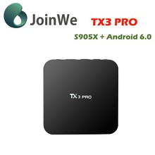 Joinwe Amlogic S905x 1g 8g Android 6.0 Tv Box Tx3 Pro