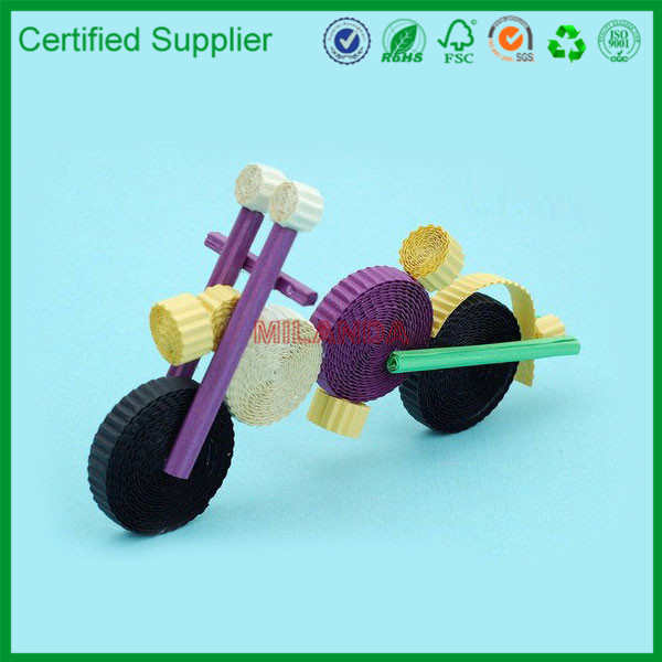 China Factory Paper Motorcycle Craft Model Number M-10734
