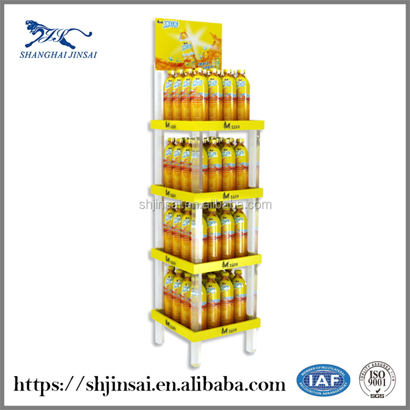 Beverage Retail Display Cabinets Shelf Tray