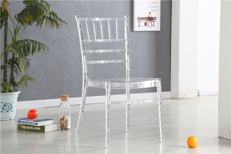 modern popular full PC clear plastic chair