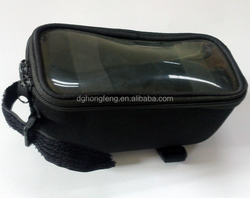 bicycle saddle bag with transperant PVC window Bike accessories