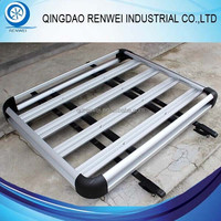 Aluminum Car Roof Carrier / Roof Luggage Cargo Storage Rack