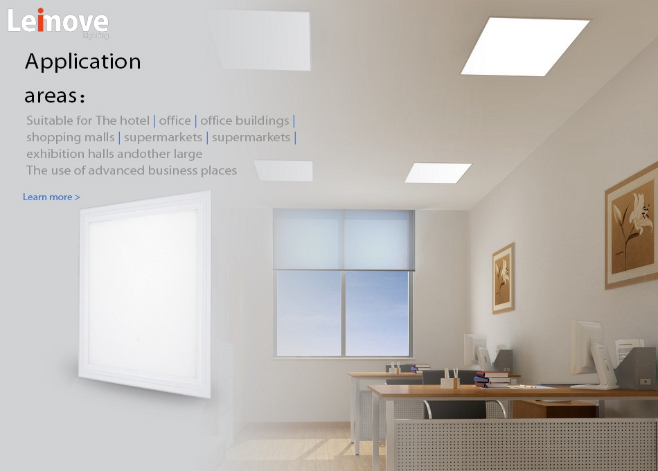 High power double color led panel light