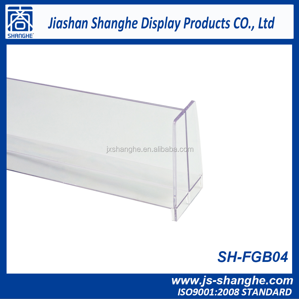 Esay assembly Plastic divider for shelf with factory price