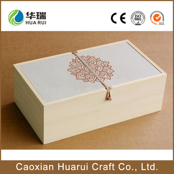 Canvas Cover Custom Small Wooden Gift Boxes Wholesale - Buy Small ...