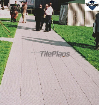 Portable Outdoor Interlocking Flooring For Outdoor Event