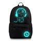 YGBP1801 Wholesale 8 Designs Luminous School Bag Boy Backpack