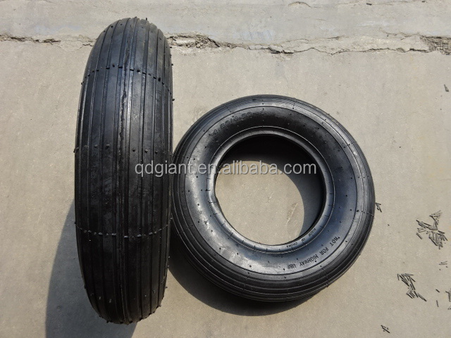 Wheelbarrow pneumatic tyre and inner tube 4.80/4.00-8
