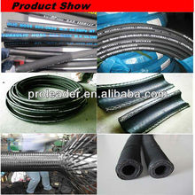 2014 Hot Sale Professional produce hydraulic natural rubber hose pipe in oil field /hydraulic hose fitting of china agency
