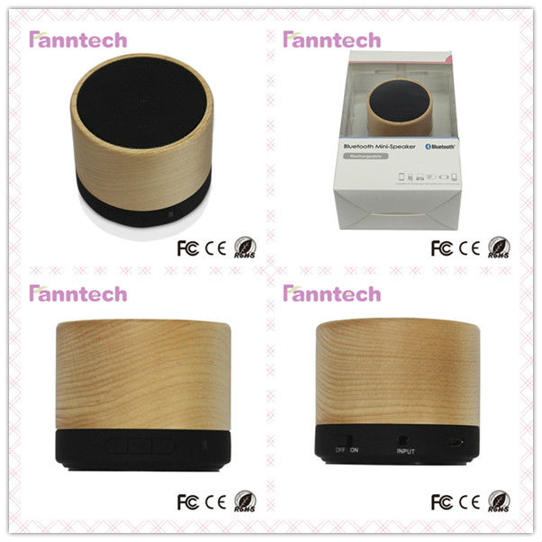Wireless Stereo Wooden China MobileSpeaker Box Design with Powerful Built-in Amplifier