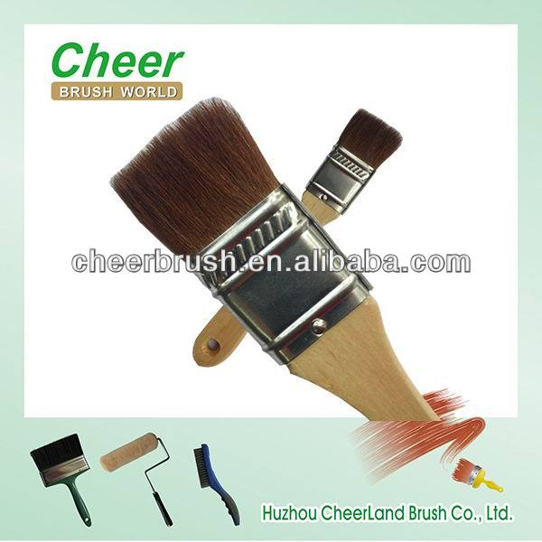 professional horse hair paint brushes making machine for wooden brush handle
