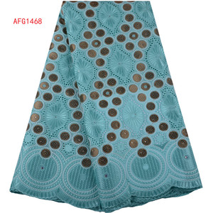 African Cotton Swiss Lace Fabric 2019 High Quality Nigerian Swiss Voile Lace In Switzerland For Women Dress