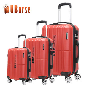 2018 New luggage set,Small suitcase Lightweight luggage,3 in 1 luggage set