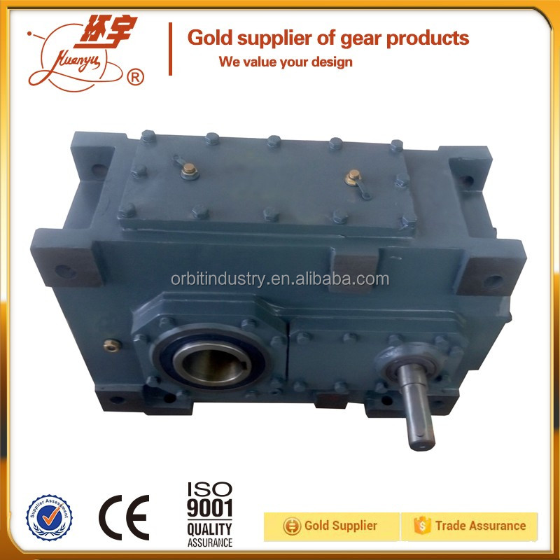 High Torque drive transmission gears parallel shaft helical motor gearbox