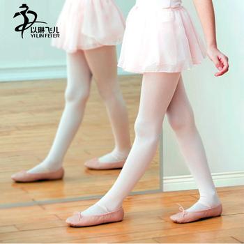 ef2f83a3c96 Kids Ballet Dance Stretch Socks Girls Ballet Dance Tights Pantyhose Children  Velvet Stocking White  Black