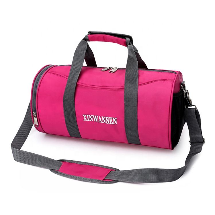Custom design geur proof active leisure sport goedkope 600d polyester tote vrouwen reistas schoen compartiment