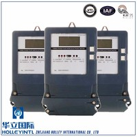 Indication Of current voltage status three Phase Electronic Active Energy Meter