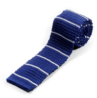 Classic design polyester knitted ties your own brand
