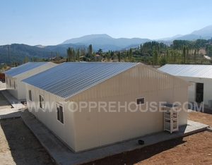 Cheap ready made fiji flat roof small concrete house plans for 3 bedroom  kit manufactured homes philippines