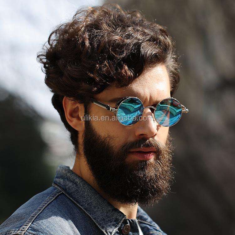 cf4f4c6c8f Vintage Steampunk Redondo Metal Gafas De Sol Polarizadas De Los Hombres  2019 - Buy Gafas De Sol Polarizadas,Gafas De Sol Steampunk,Gafas De Sol  Redondas ...