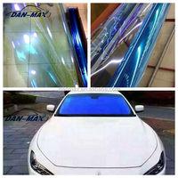 Smart blue sun protection car self adhesive chameleon vinyl window film