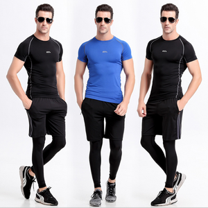 China factory alibaba customized compression suits men / leggings / new yoga wear