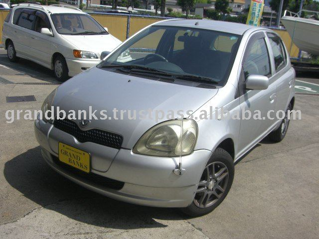 Toyota Vitz with Alloy