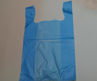 T shirt shopping/supermarket/grocery customized plastic bag