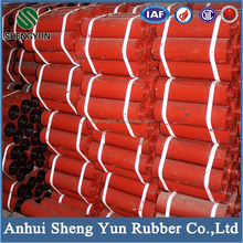 anhuiTongcheng conveyor belt roller with good bearing