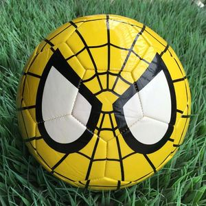 Cool Spider Design High Quality Materials Foam Balloon Real Leather Soccer Ball