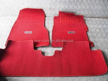 Auto Fußboden Teppich ~ Verwendet jdm typ r ep k a eu interior red boden teppich