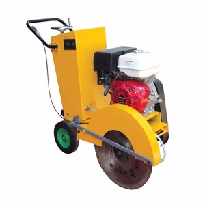 2017 mini road cutter/concrete road saw cutting machine