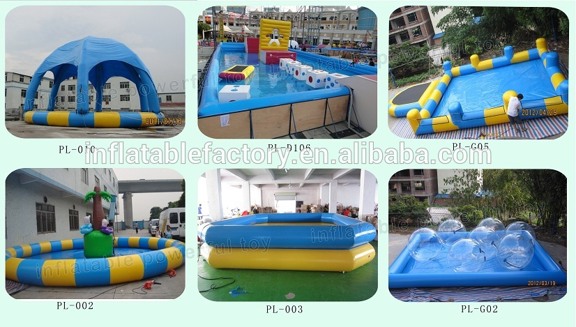 Customized  Swimming Pool Inflatable Water Pool for Outdoor