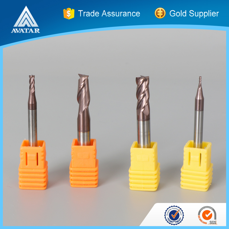 face milling solid carbide endmills in CNC Lathe milling machines