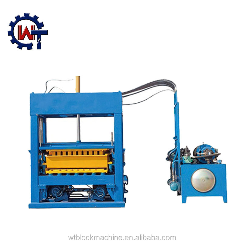 Wante Brand Qt 5-15 Africa Block Machine Price,Hourdis Concrete Block  Machine - Buy Qt 5-15 Africa Block Machine,Qt 5-15 Africa Block Machine