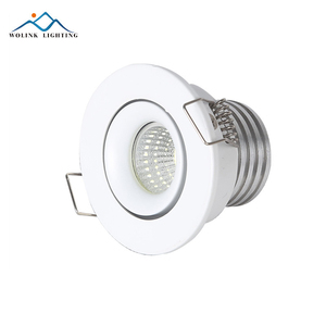 3w Ceiling remote control dimmable mini led downlight with head moveable