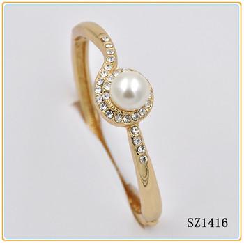 New Design Indian Style Bracelet Gold 22k