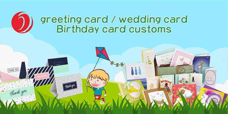 Wholesale box music card customized greeting cards for customize