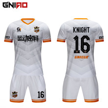 Nach <span class=keywords><strong>thailand</strong></span> qualität 100% polyester neue modell sublimation fußball jersey