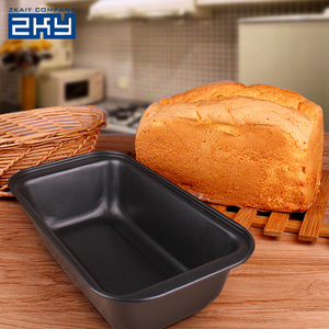 High Quality Rectangular Tray Carbon Steel Cakes Molds For Toast Bread Machine Non Stick Baking Pan