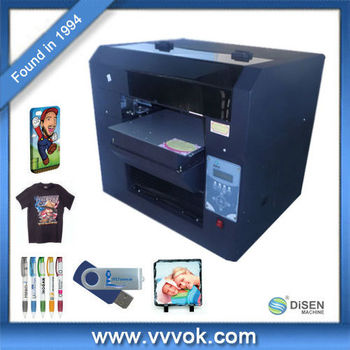 T shirt inkjet printing machine for sale buy t shirt for Inkjet t shirt printing